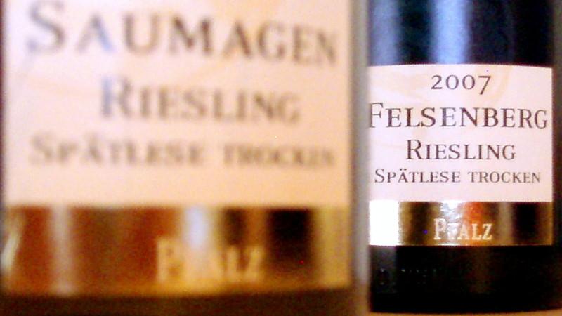 Bühler, Felsenberg und Saumagen