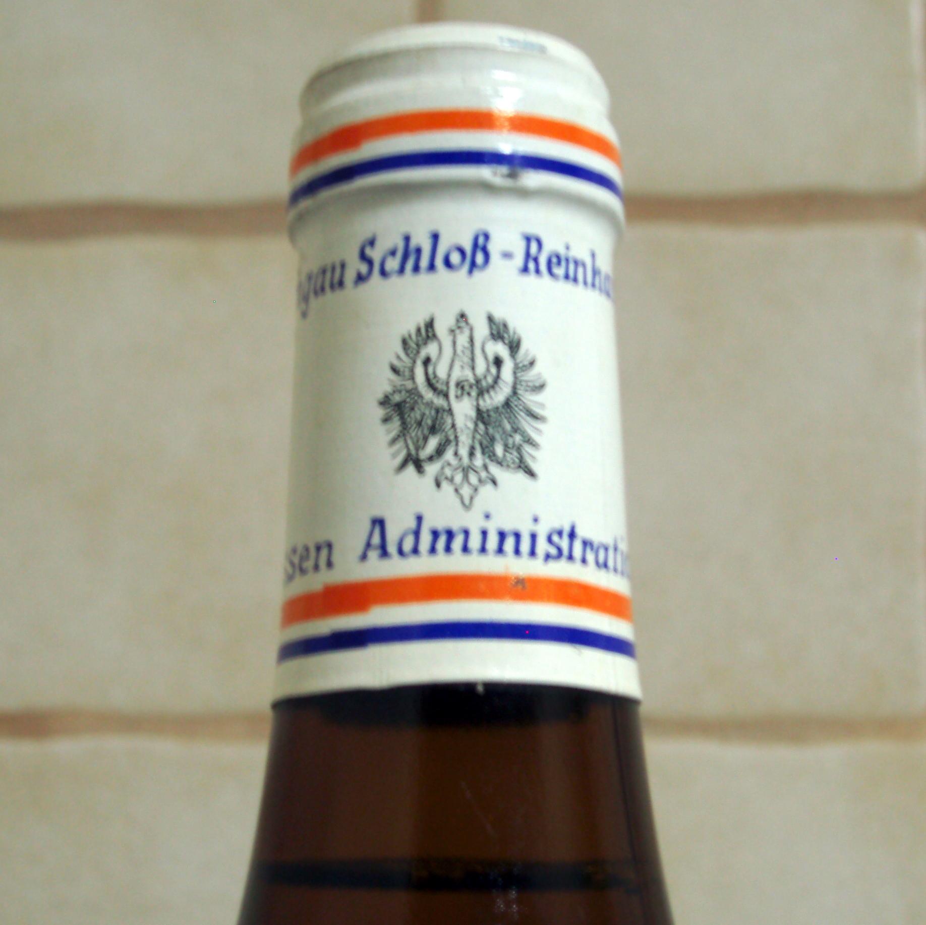 1979 Erbacher Markobrunn Riesling Spätlese Schloss Reinhartshausen - thumb
