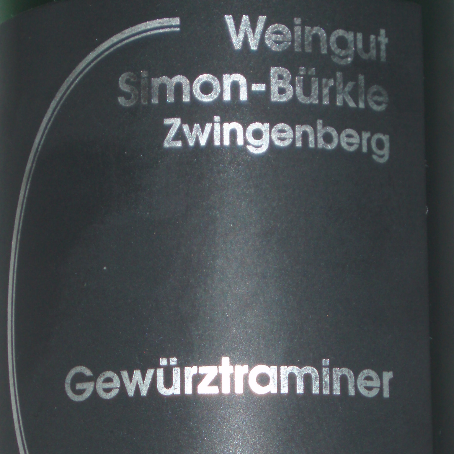 2008 Alsbacher Schöntal Gewürztraminer Spätlese, Weingut Simon-Bürkle Zwingenberg - thumb