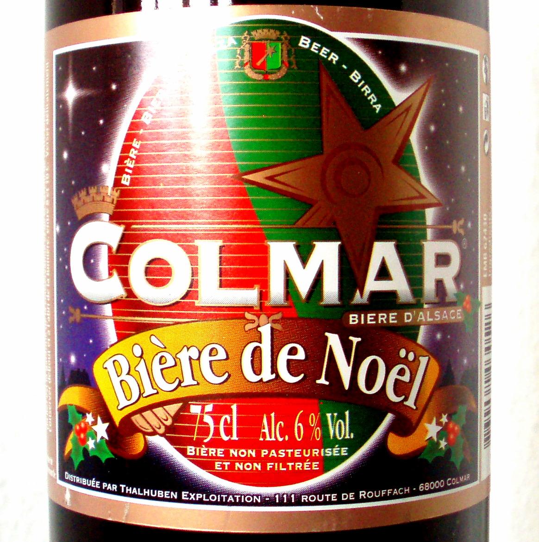 Biere de Noel / Weihnachtsbier - Colmar