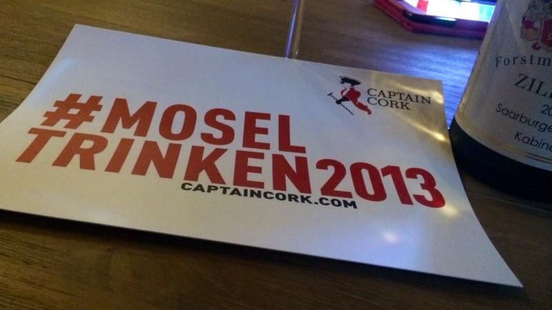 #Moseltrinken 2013 - CaptainCork.com