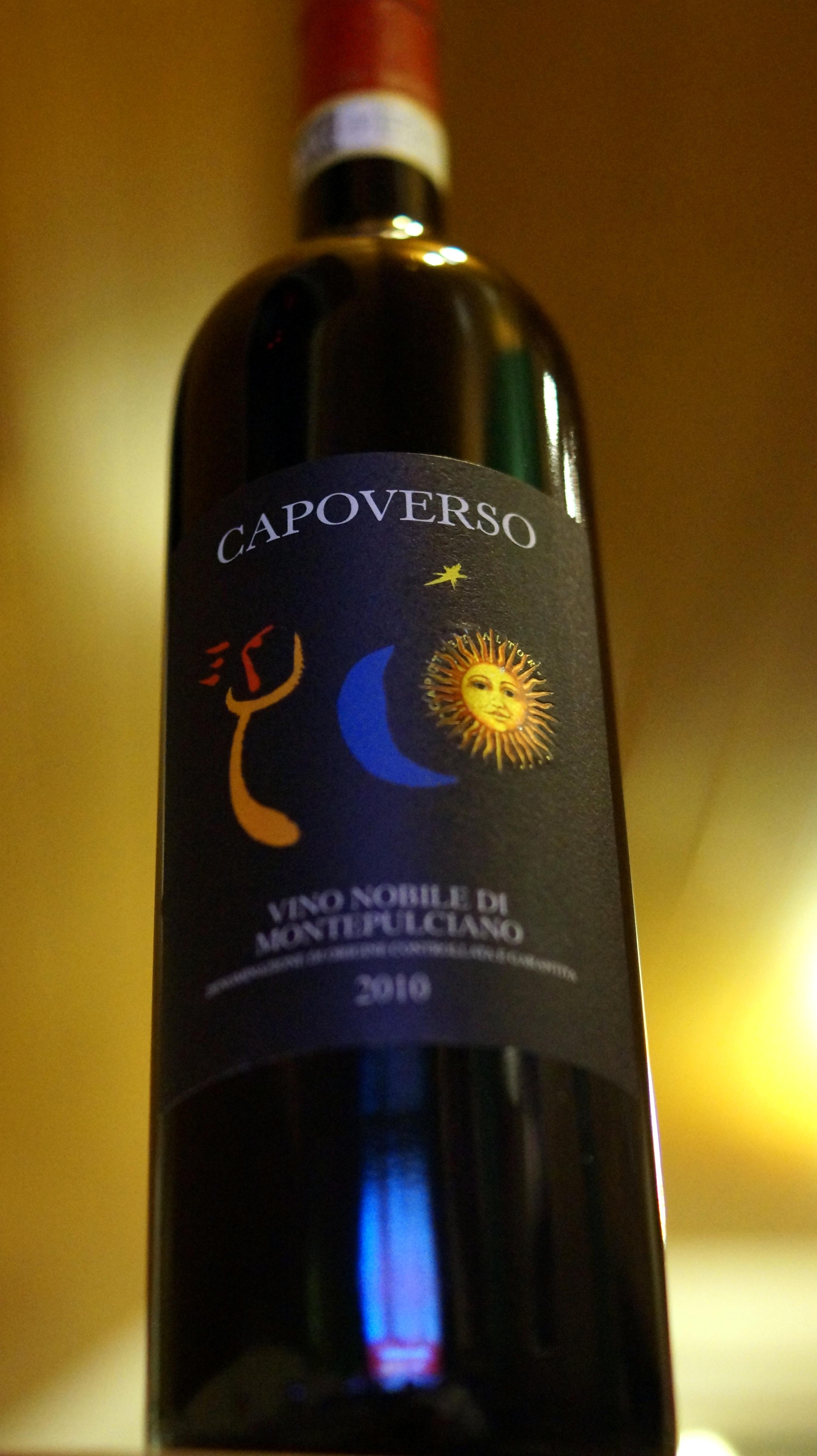 2010 Vino Nobile di Montepulciano DOCG, Capoverso (1)