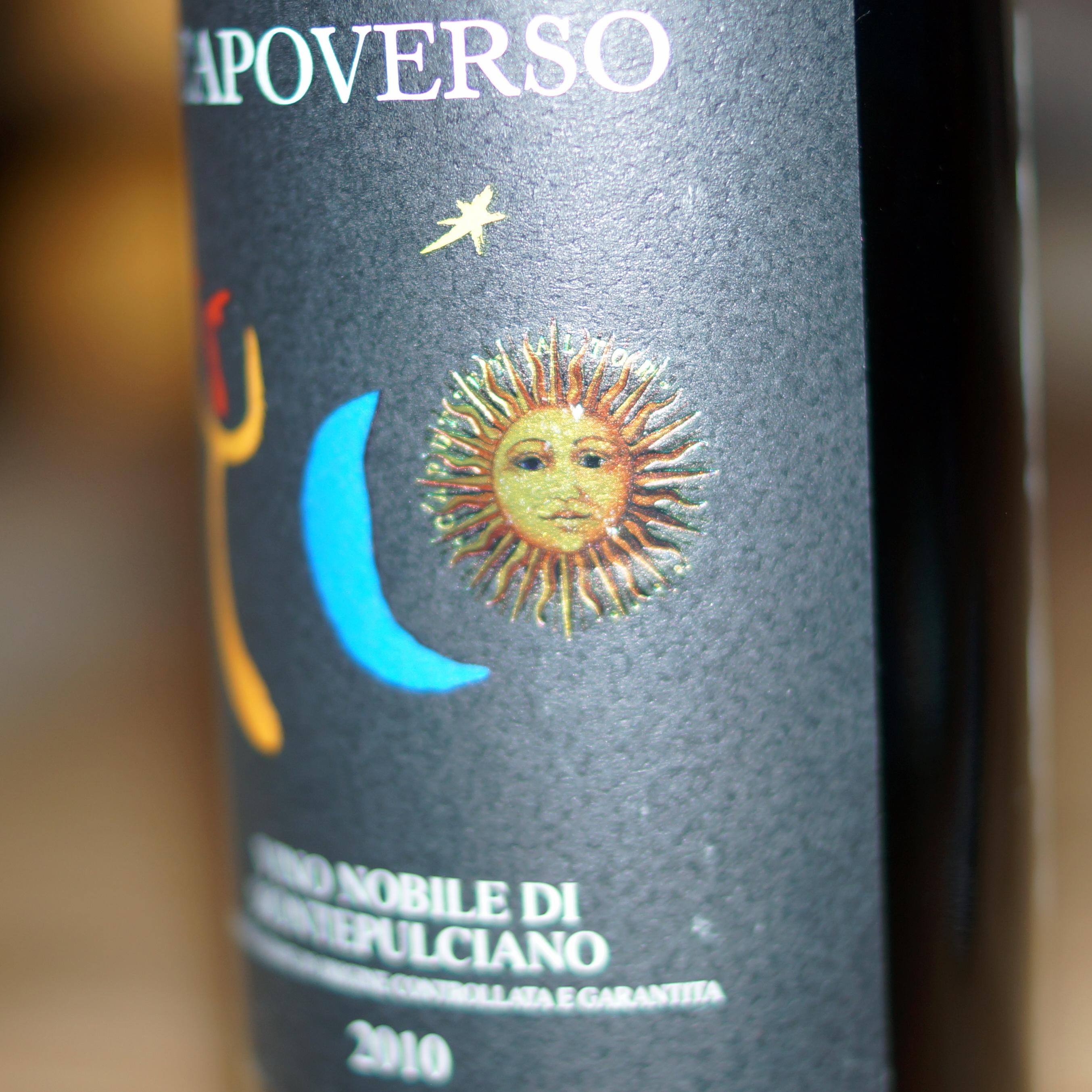2010 Vino Nobile di Montepulciano DOCG, Capoverso