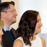 Tim Niederer (Weinfachberater IWI) und Charlotte Ganter (Commis Sommelière IWI)
