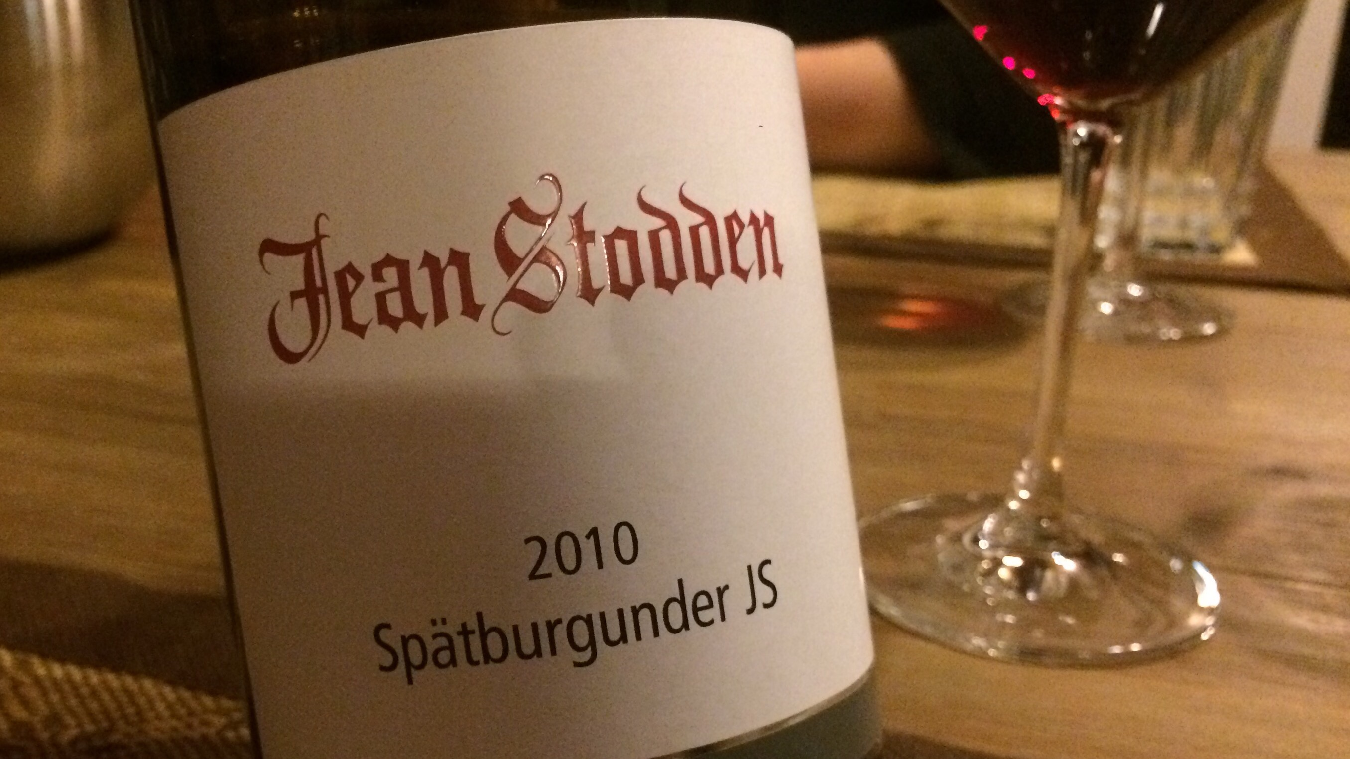 2010 Spätburgunder JS, Jean Stodden