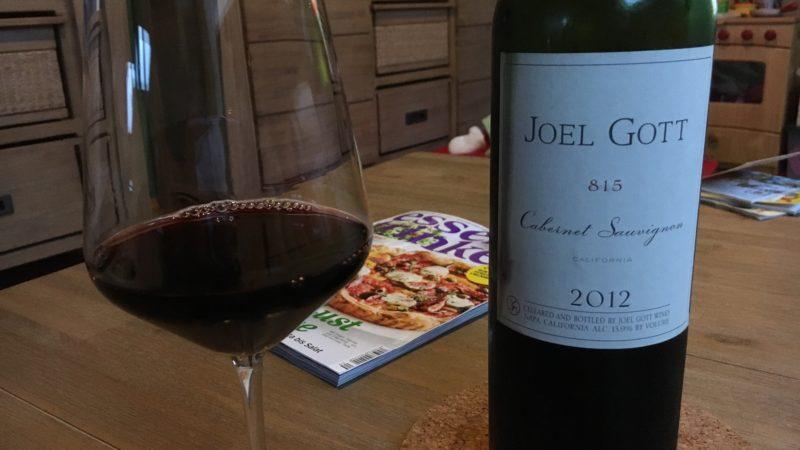2012 Joel Gott Cabernet Sauvignon